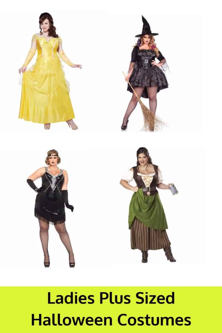 Ladies Plus Sized Halloween Costumes