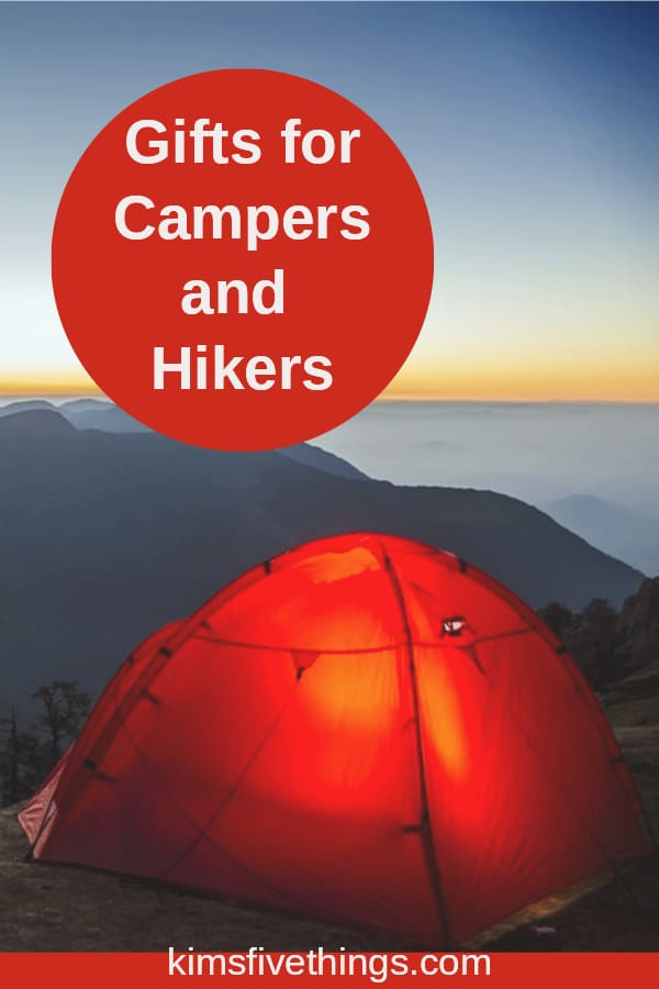 best gifts for camping and hiking friends and family