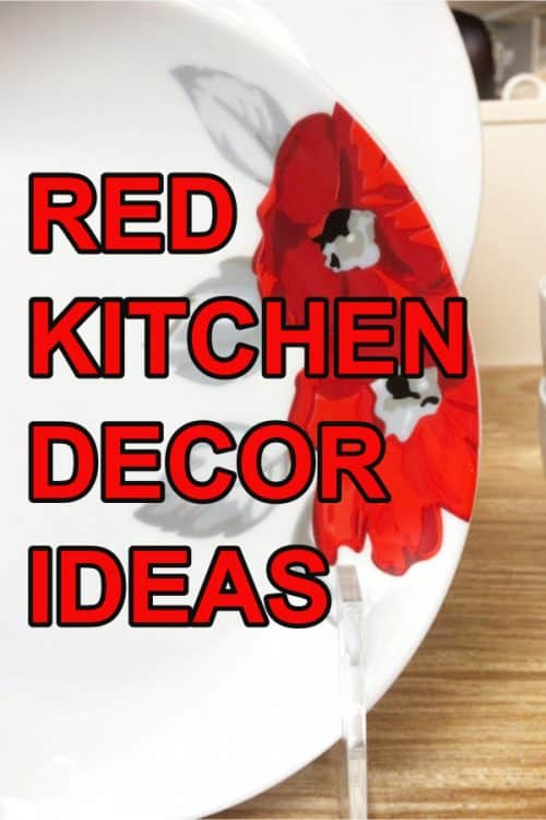Red Kitchen Accessories and Decor Ideas