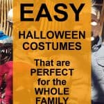 Easy DIY Halloween Costumes for Families