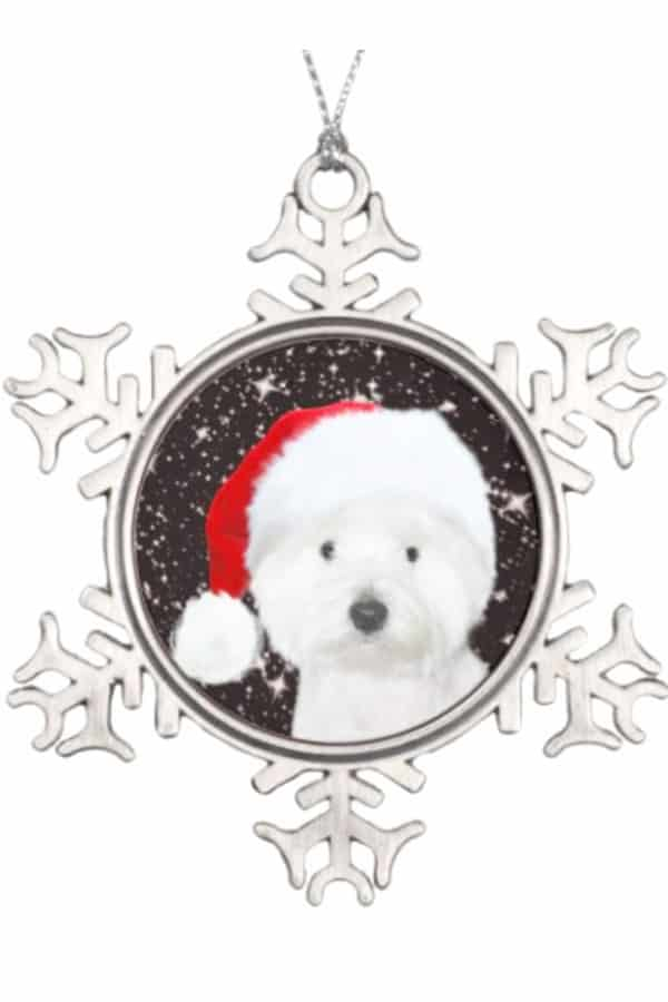 Westie Christmas Decorations