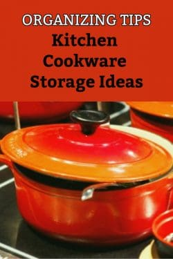 Best ways to organize cookware in a kitchen