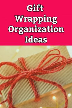 gift wrapping organization ideas how to store wrapping paper and gift bags