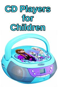 best cd players for children that love music