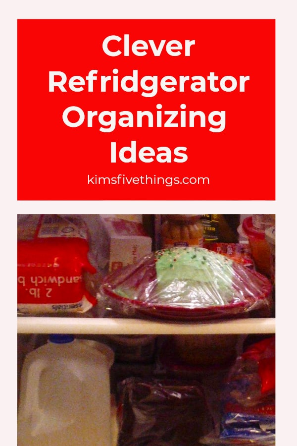 clever refrigerator organizing ideas