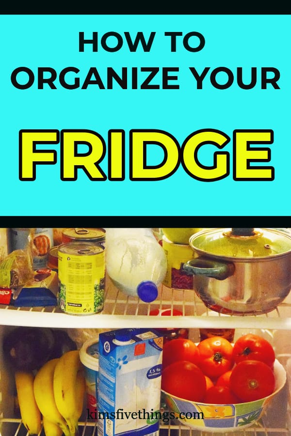 how to organize your fridge with storage containers