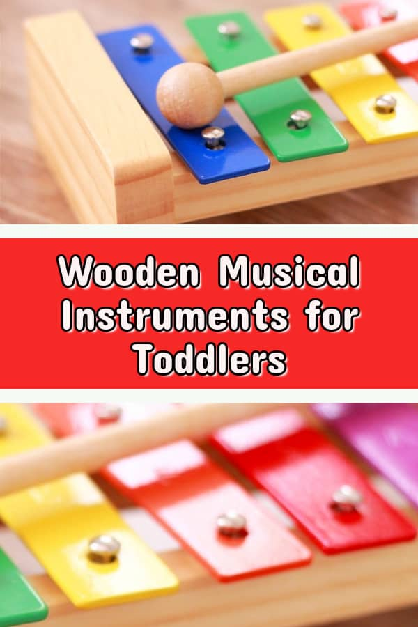 wooden musical instruments for toddlers