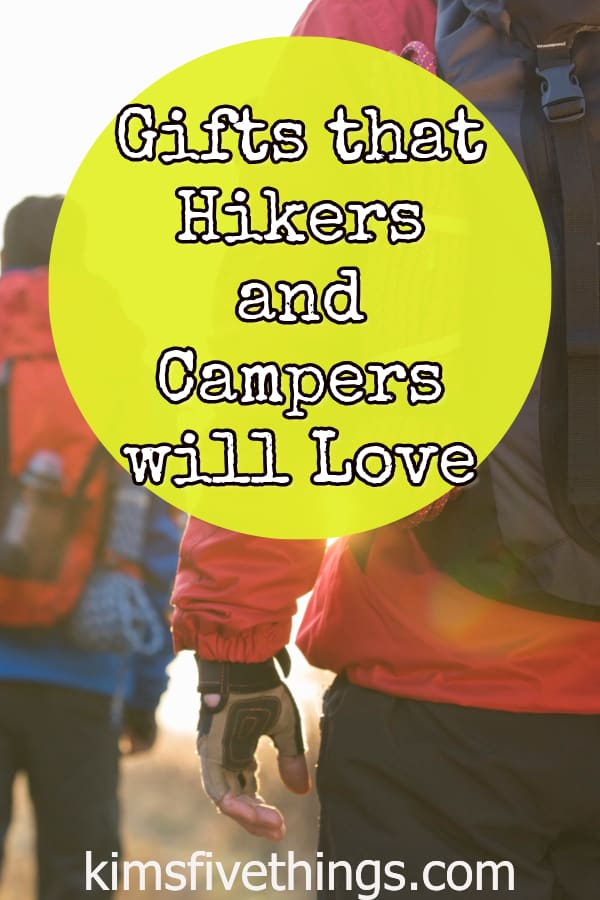 camping and hiking gifts on a budget