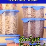 budget friendly pantry organizer kits
