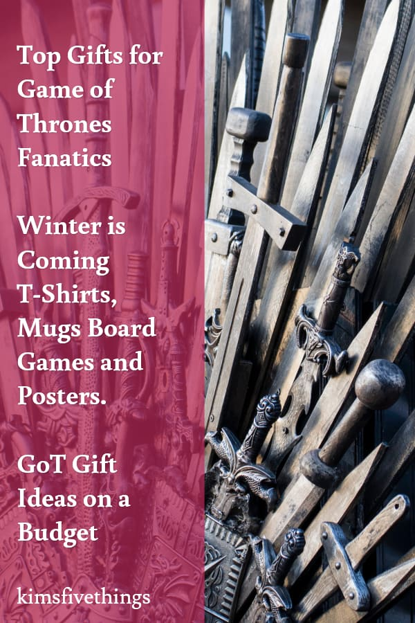 budget game of thrones gifts