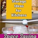 lazy susan for corner cabinet organization ideas