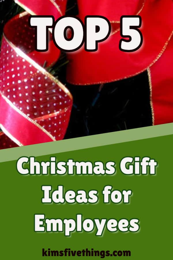 Top 5 Christmas Gifts for Employees Best Employee Gifts 2019
