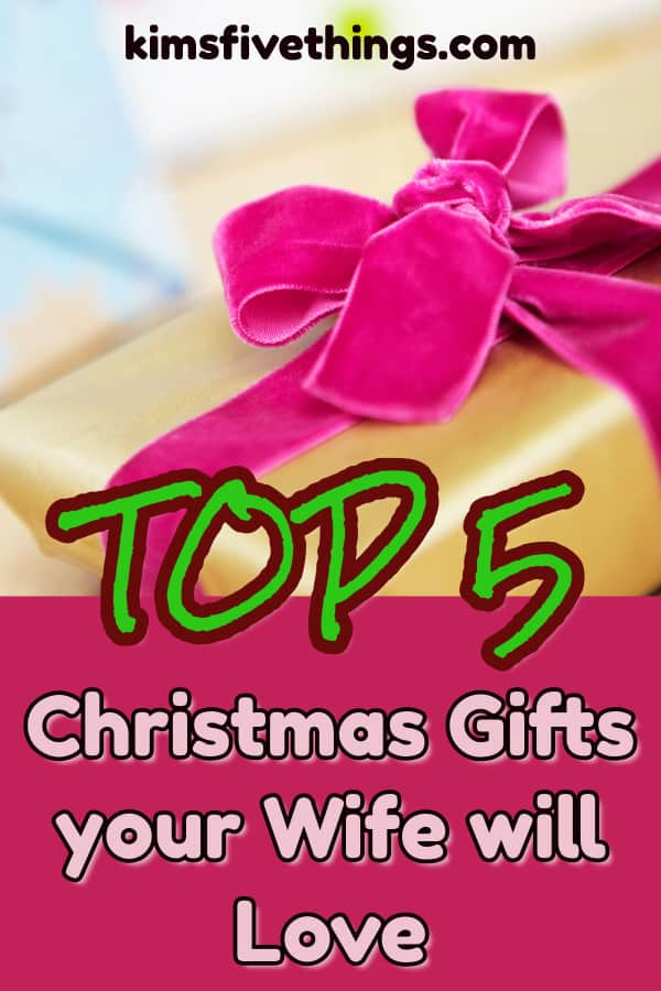 Top 5 Christmas Gifts for Your Wife: Best Gifts to Pamper ...