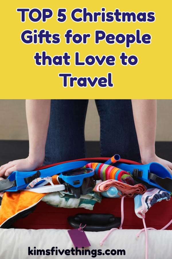 top 5 christmas gifts for people that love traveling