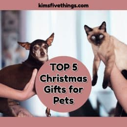 top 5 christmas gifts for pets 2019