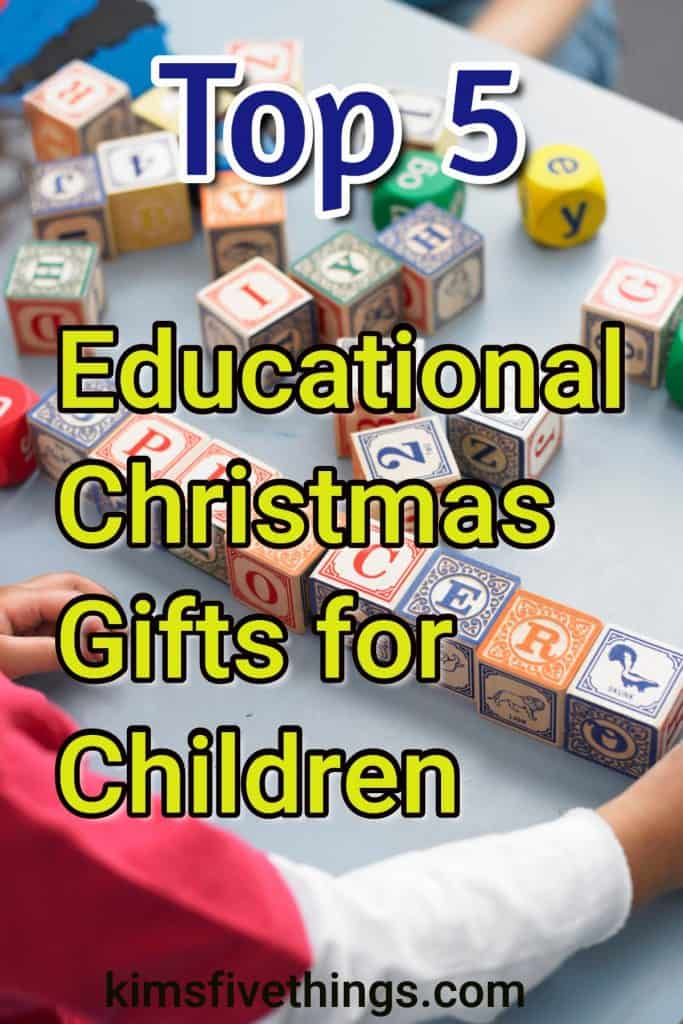 Top 5 Educational Christmas Gifts for Kids - Learning Toys for Toddlers and Children