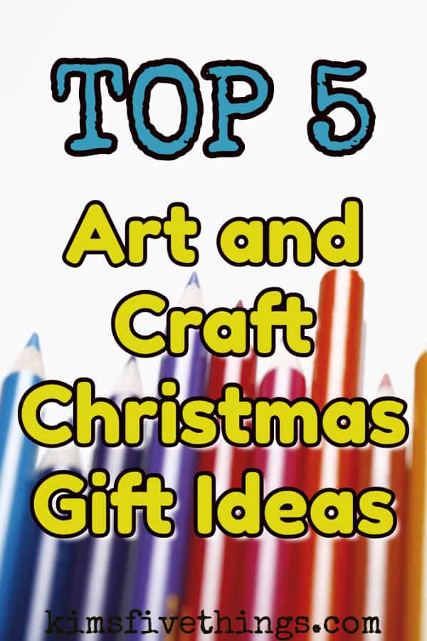 top 5 art and craft Christmas gift ideas