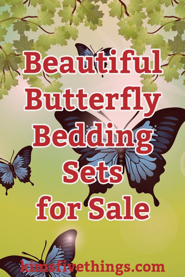 best butterfly print bedding sets adults will love