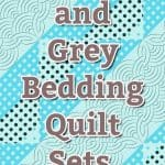 teal and grey bedding quilt sets double sided