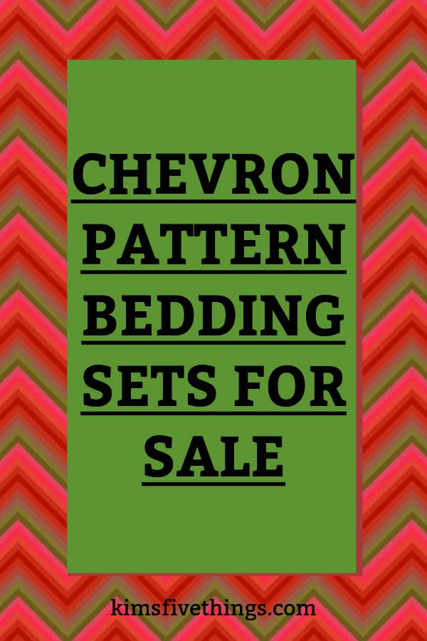 best chevron pattern bedding sets for sale