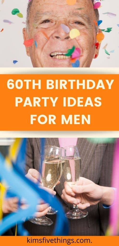60th Birthday Party Ideas, Decorations and Supplies
