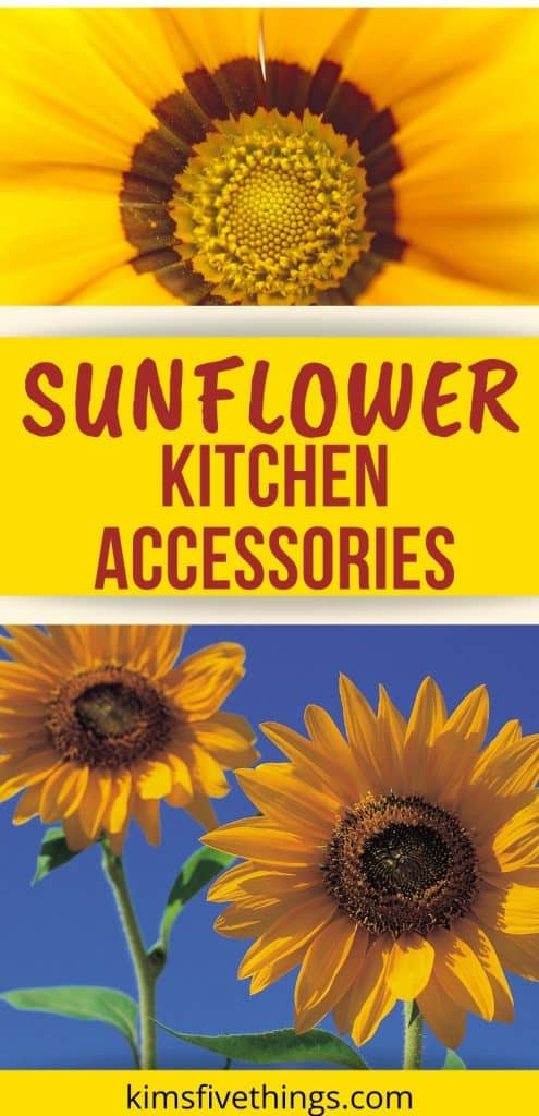 Sunflower Kitchen Accessories and Decor Ideas