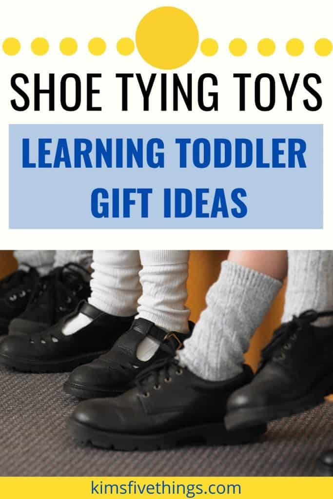 toys that teach children how to tie their shoe laces