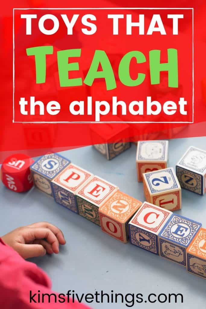 best toys to teach toddlers and children the alphabet
