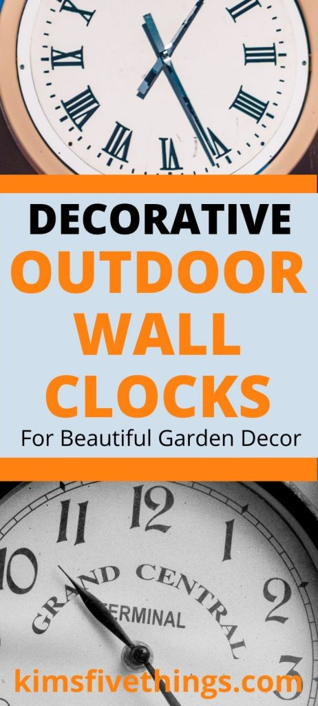 Best Decorative Outdoor Wall Clocks