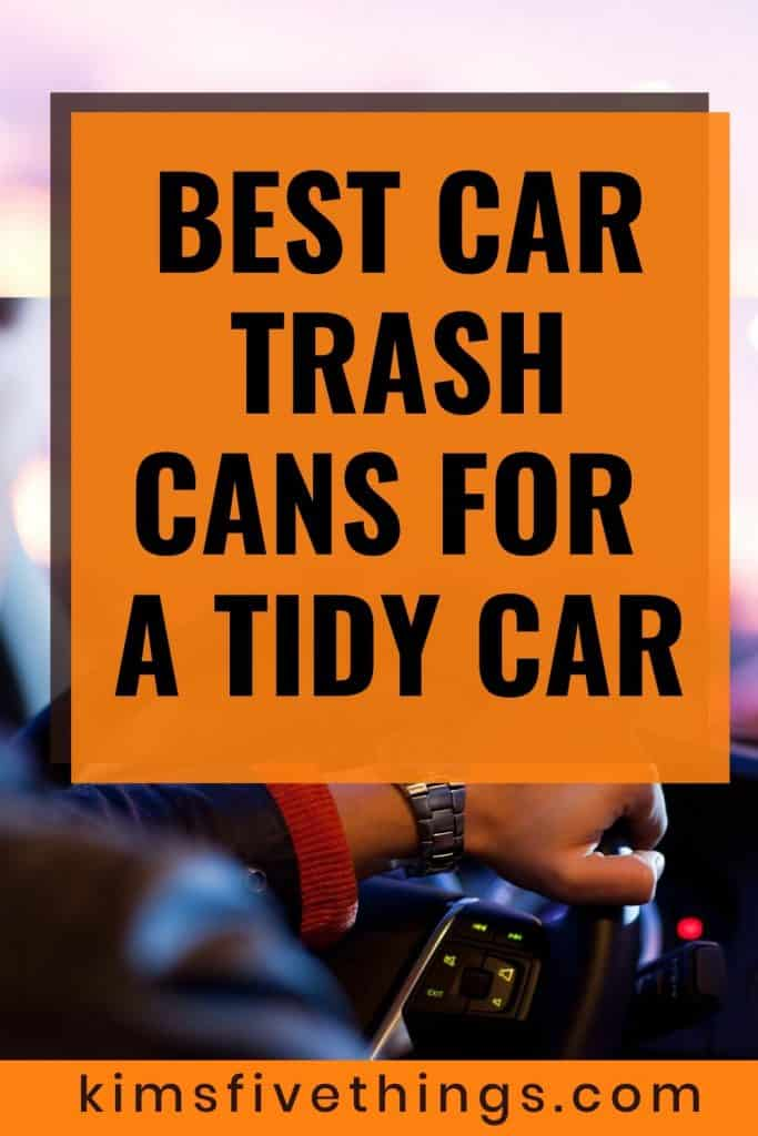 best car trash cans for tidy cars