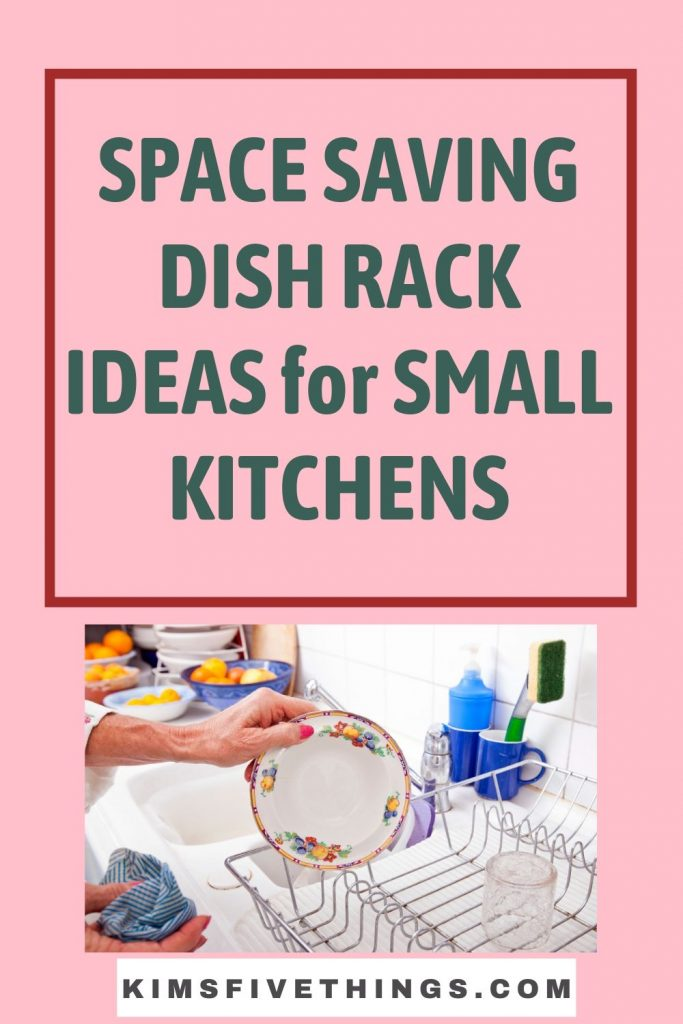Small Dish Drying Racks for Small Kitchens