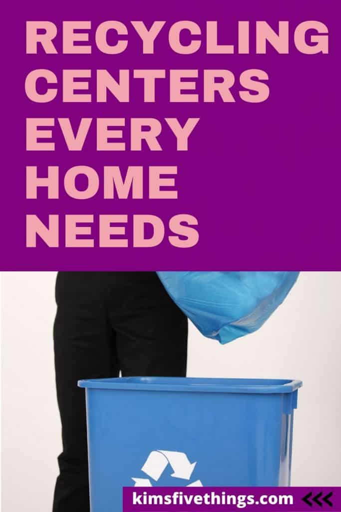 best home recycling center ideas