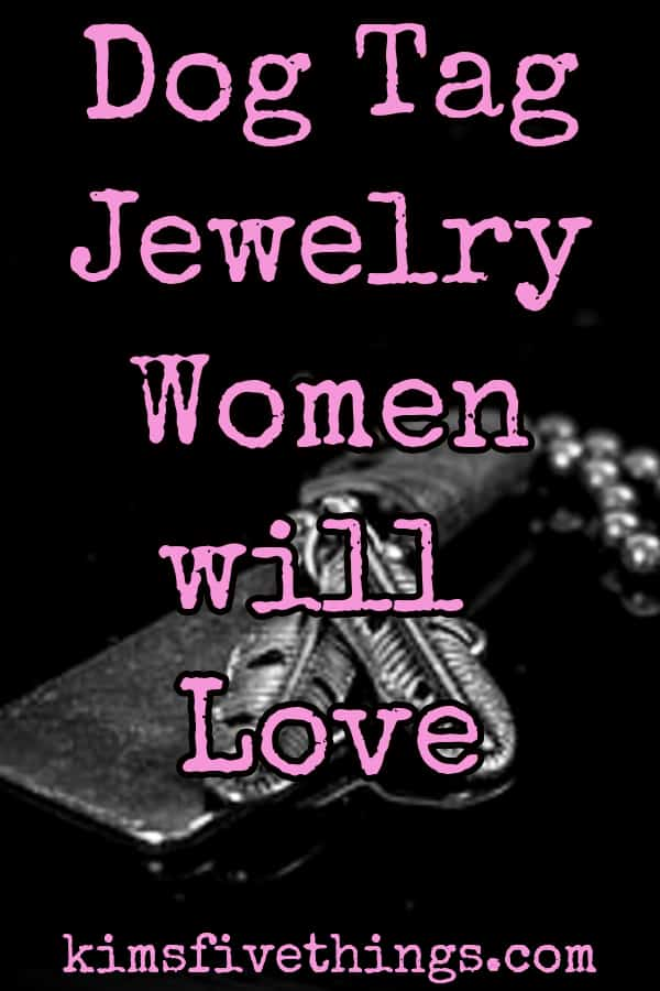 dog tag jewelry for women