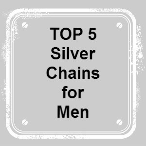 silver chains for men