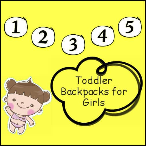 toddler backpacks for girls