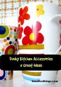 funky kitchen accessories and design ideas