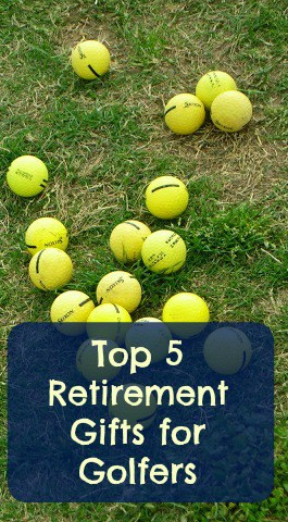 retirement gifts for golfers