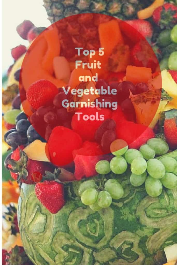 fruit and veg garnishing tools