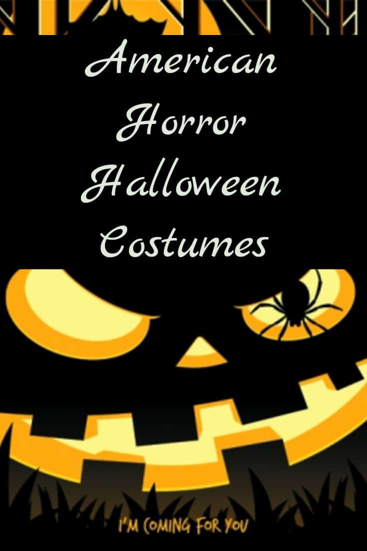 american horror halloween costumes for men and women