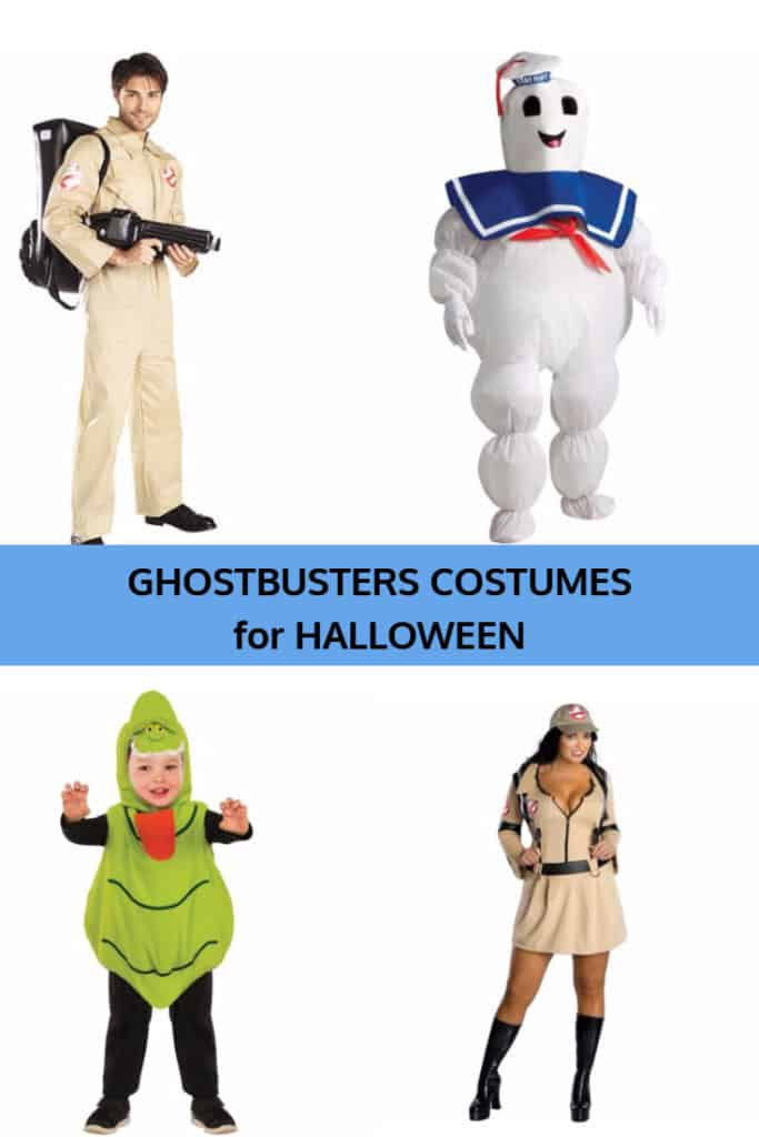 Ghostbusters Halloween Costume Ideas for Adults and Children