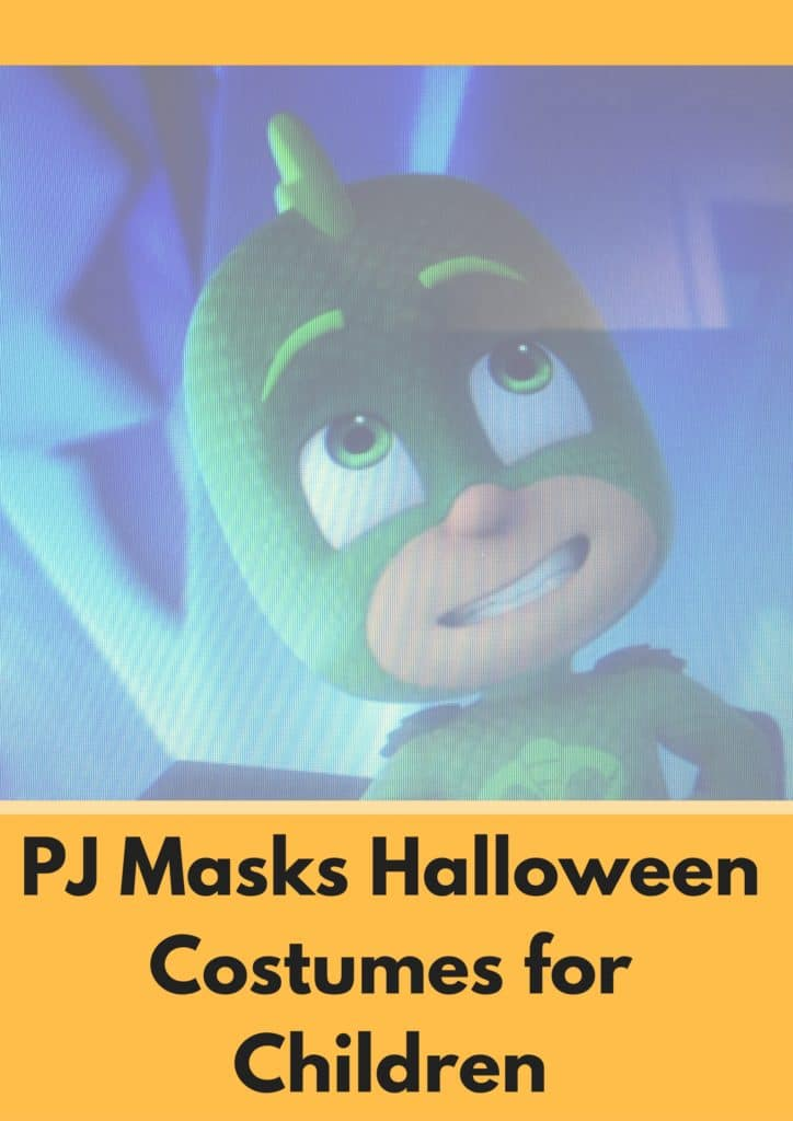 pj masks halloween costumes for shildren