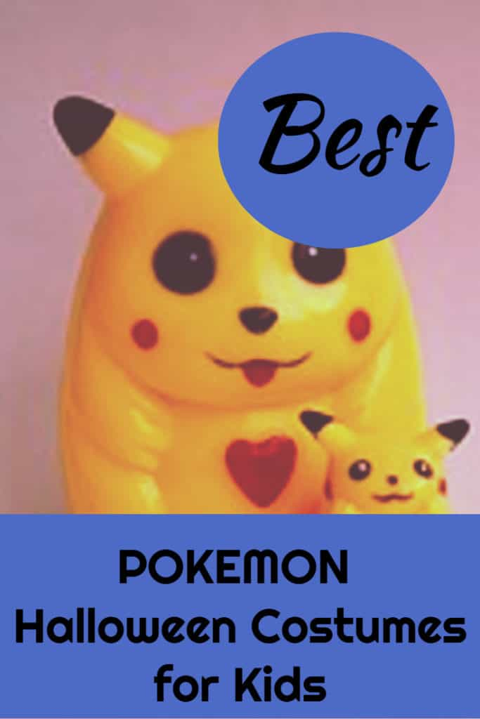 pokemon halloween costumes for kids