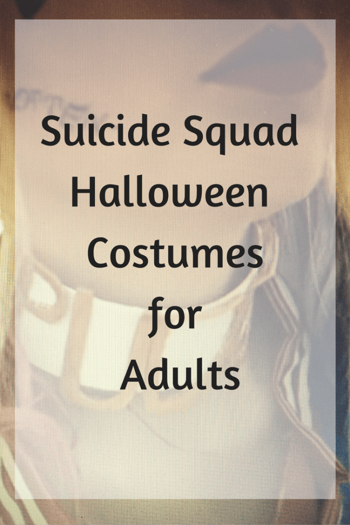 suicide squad halloween costumes for adults