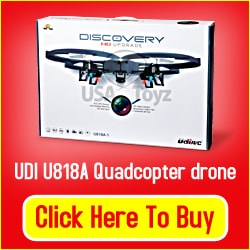 Quadcopter Drone with Camera Gift Idea
