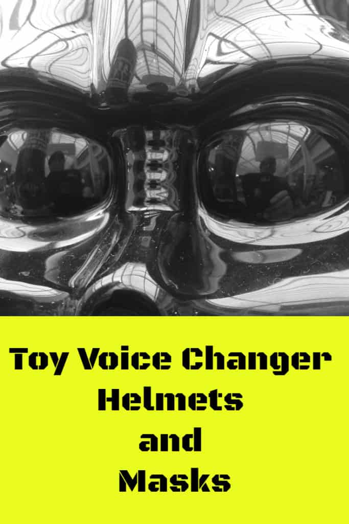 toy voice changer masks and helmets