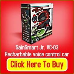 Rechargeable Voice Contolled Toy Car