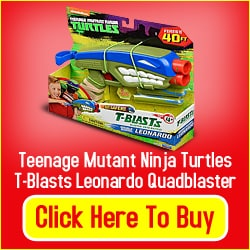 Teenage Mutant Ninja Turtles Toy Blaster Set