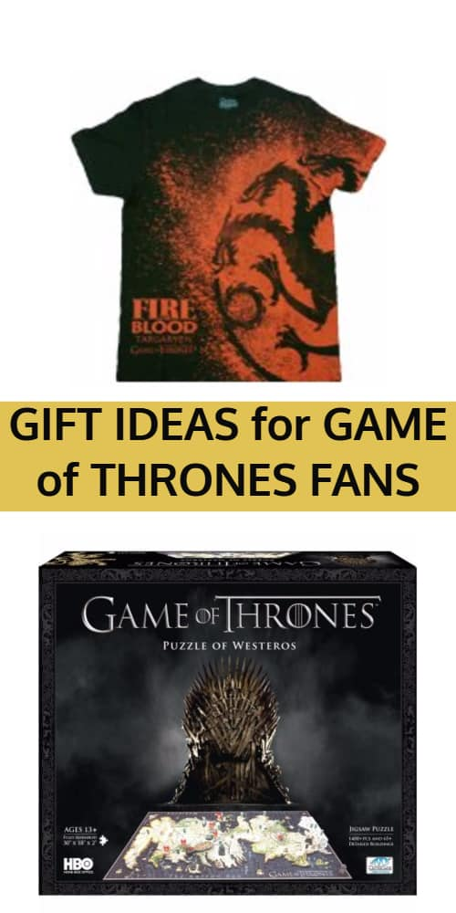 Gift Ideas for Game of Thrones Fans