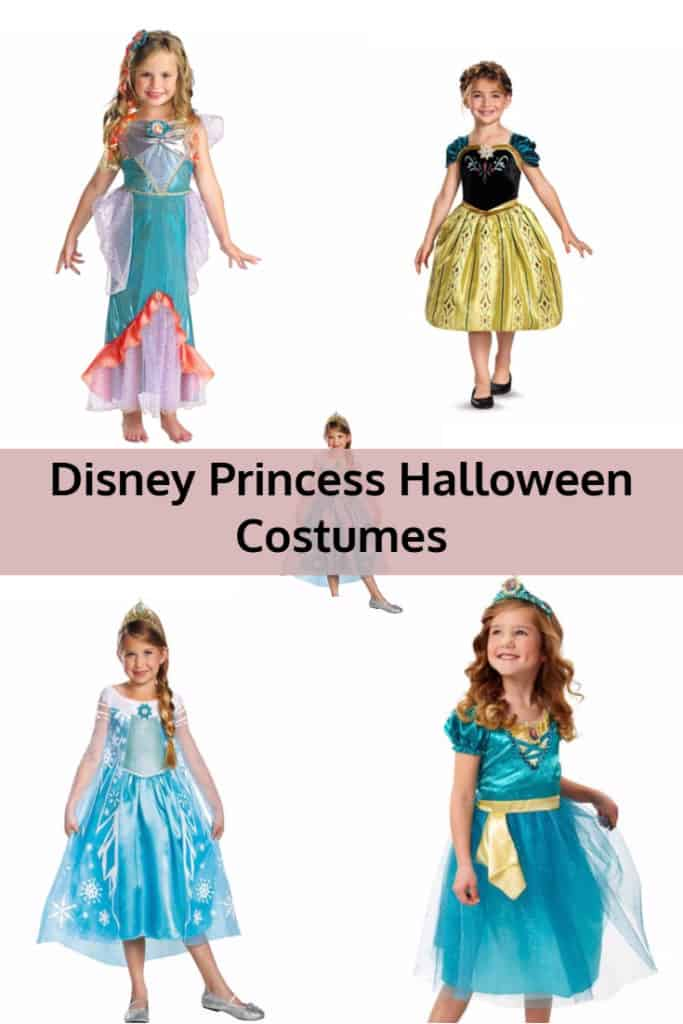 Disney Princess Halloween Costumes for Girls