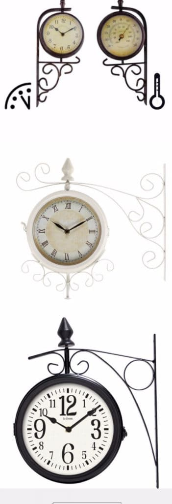 Best Two Sided Outdoor Clocks
